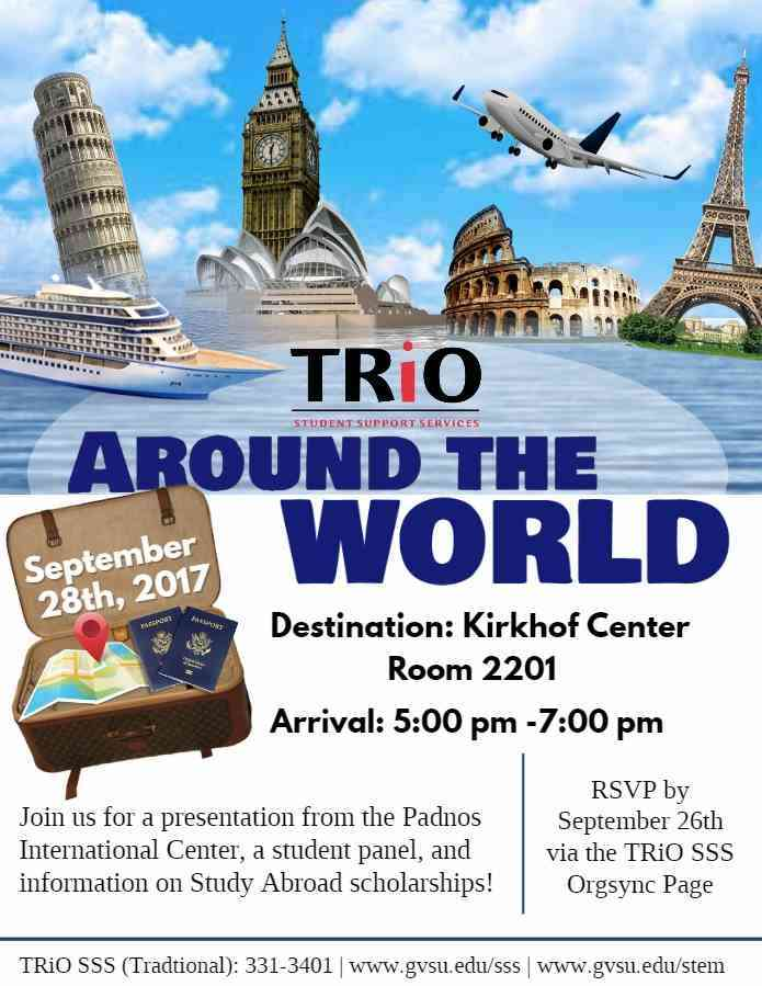 Trio Around the world